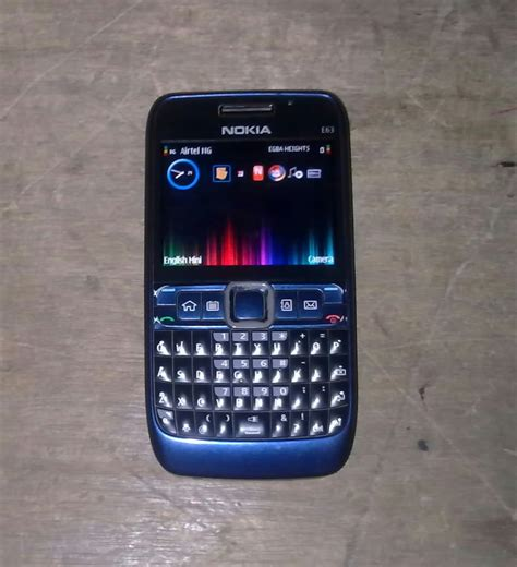 nokia phone e63 fairly used clean nokia e63 for sale 18 000 only