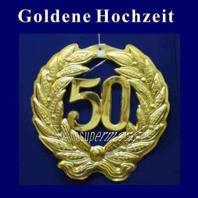 Goldene Hochzeit Dekoration by Ballonsupermarkt Onlineshop De Goldene Hochzeit 50