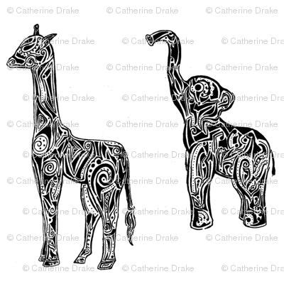 tribal pattern giraffe pinterest the world s catalog of ideas