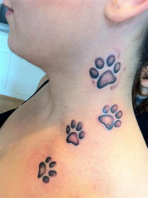 tattoo of cat paw print 35 amazing cute cat tattoo ideas