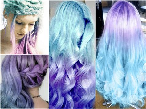 white and blue hair extensions colorful braided hairstyles diy braids with vpfashion