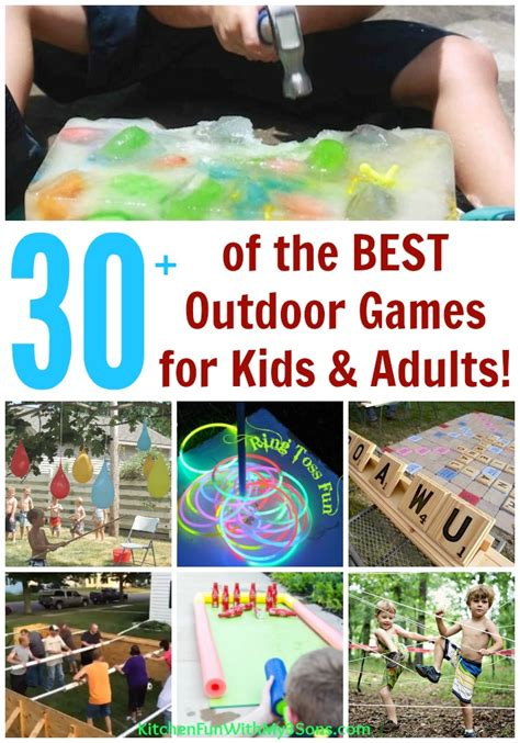 backyard activities for kids 30 best backyard games for kids and adults