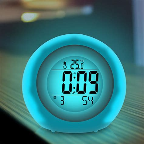 baldr color changing alarm clocks with colorful backlight change temperature an 713651262368 ebay