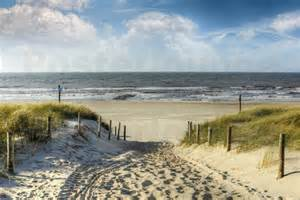 bilder strandmotive roder weg in den d 252 nen zum strand poster bestellen posterlounge