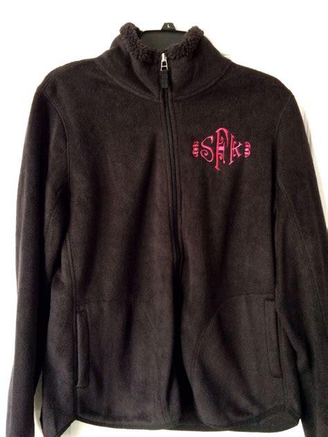Myu Robot Fleece Jacket embroidered fleece jacket embroidered with my