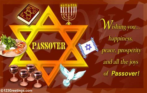 All The Joys Of Passover! Free Happy Passover eCards