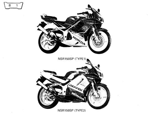 honda nsr150sp wiring diagrams wiring diagram schemes