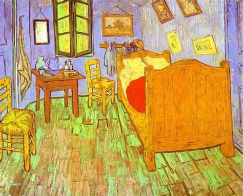 vangoghs bedroom mr kreutinger s art room 4th grade van gogh s bedroom