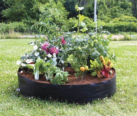 fabric raised garden beds smart pots big bag bed fabric raised bed house ideas