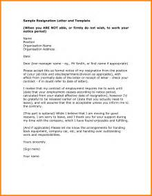 How To Compose A Letter Of Resignation by 10 How To Write A Resignation Letter Format Daily Task Tracker