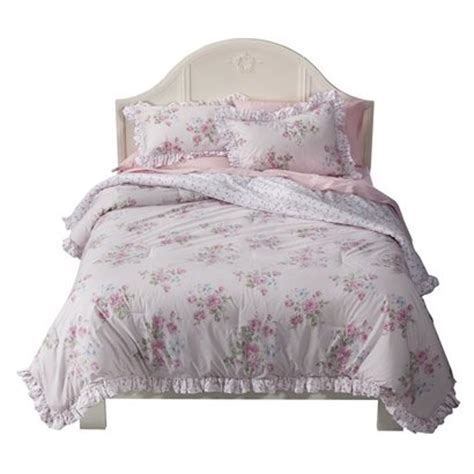 simply shabby chic 174 misty rose comforter set pink king