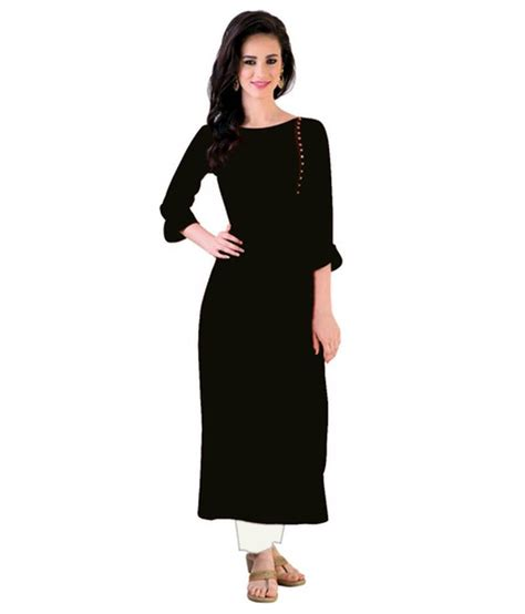 new pattern long kurti black plain rayon long kurtis long kurtis kurtis and kurti