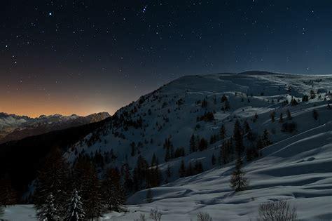 foto paesaggi notturni kumpulan foto cantik