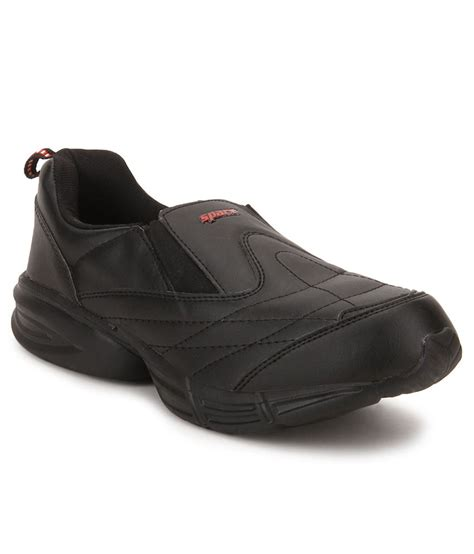 sparx black lifestyle sports shoes price in india buy