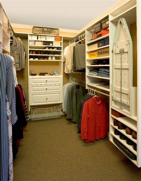 Closet Ironing Board by Ironing Board Cabinet Essentials And Styling