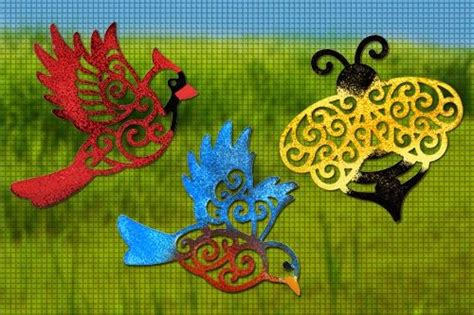 Decorative Screen Door Magnets - birds and the bee magnetic screen saver series home the