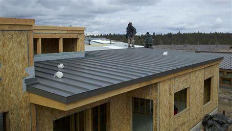 Flat Metal Roof Gallery Lionheart Contracting