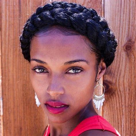 halo braid black hair hair inspiration 18 cute milkmaid braid ideas for girls
