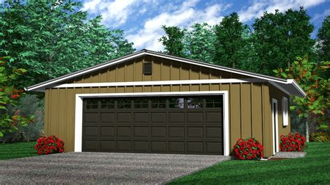 Two Car Garage Plans by Rustic Detached 2 Car Garage 2 Car Detached Garage Plans