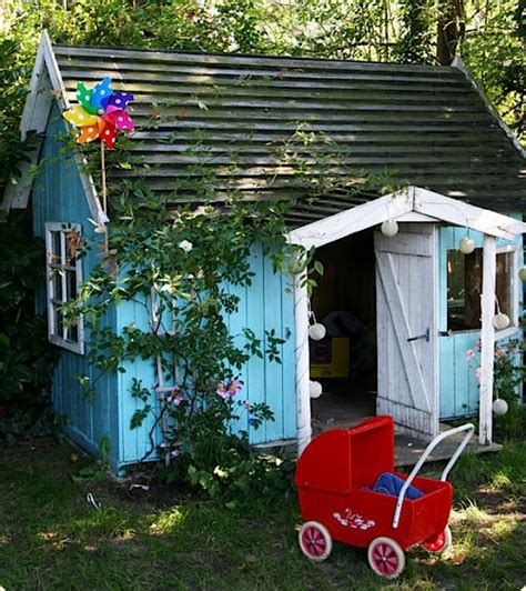 outdoor playhouses handmade