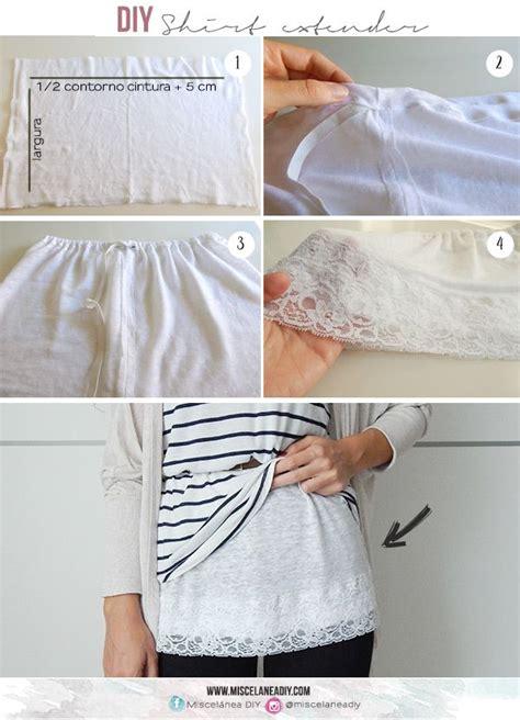 shirt extender pattern diy sewing shirt extender lace extender diy sewing