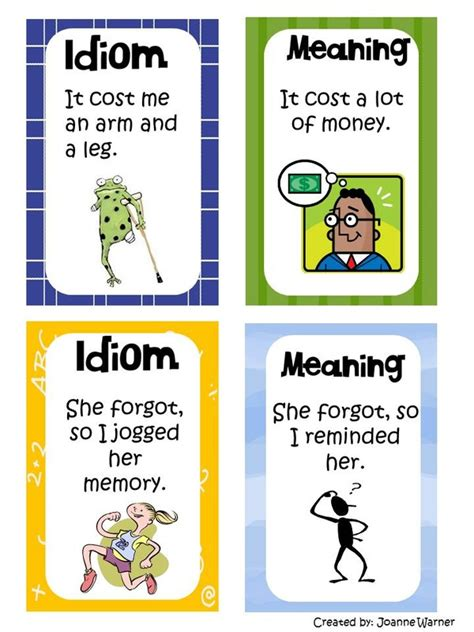 exle of idiom picture idioms idioms