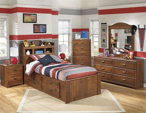 youth bedroom furniture with storage barchan youth bookcase storage bedroom set from ashley