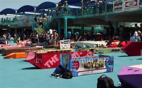 cardboard boat regatta arlington tx cardboard boat regatta raises money laughs city of