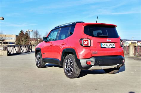 jeep renegade test test jeep renegade 2 0 limited