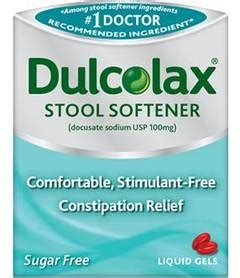 Stool Constipation Relief by Dulcolax 174 Gentle And Predictable Overnight Relief Laxative