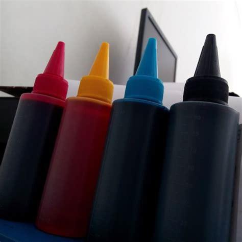 Tinta Infus Printer Canon Tinta Isi Ulang Printer Canon jual tinta refill isi ulang printer canon inkjet infus refil 100ml ink jet hitam merah biru