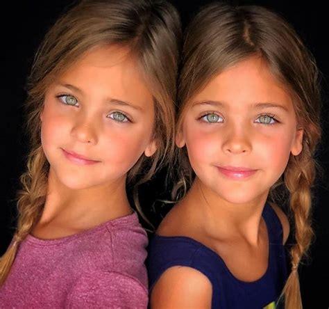 imagenes de gemelas terrorificas estas gemelas son consideradas las ni 241 as m 225 s guapas del