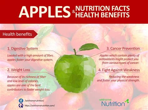 apple health apples nutrition facts and health benefits