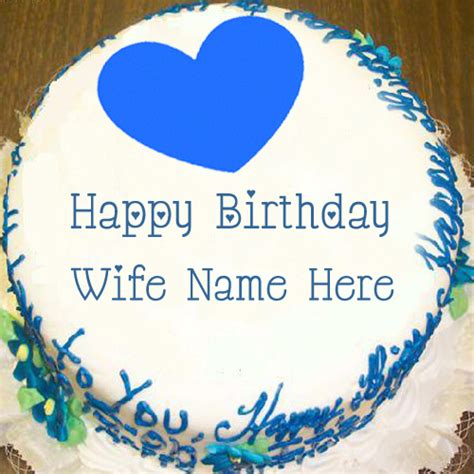 Happy Birthday Wishes With Name Wife Happy Birthday Wishes Best Name Cakes Pictures