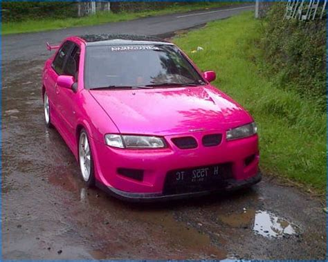 Modif Jupiter Z Warna Pink by Modifikasi Mobil Timor Ceper Elegan Balap Warna Silver Dan