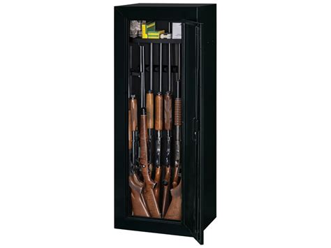 Stack On Steel Security 14 Gun Cabinet Black