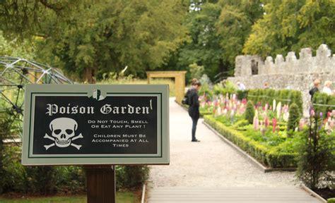 the poison garden pics