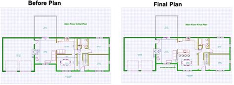 Kitchen Renovation Floor Plans | open floor plan