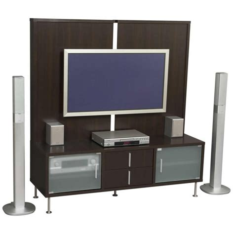 Brown Tv Stand With Mount by Brown Wooden Wall Mounted Modern Tv Cabinets Design