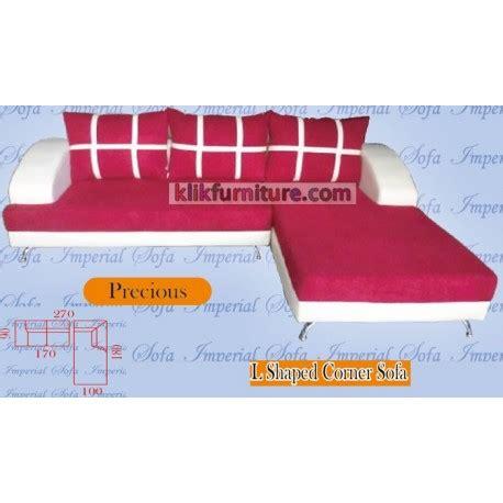 Jual Sofa L Minimalis Puff jual sofa minimalis l precious harga promo