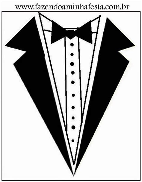 Tuxedo Templates Empreintes Pinterest Template Craft Gifts And Diys Paper Tuxedo Template
