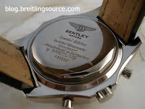 Bentley Motors Special Edition Certified Chronometer 100m 330ft Breitling For Bentley Motors A25362 Special Edition