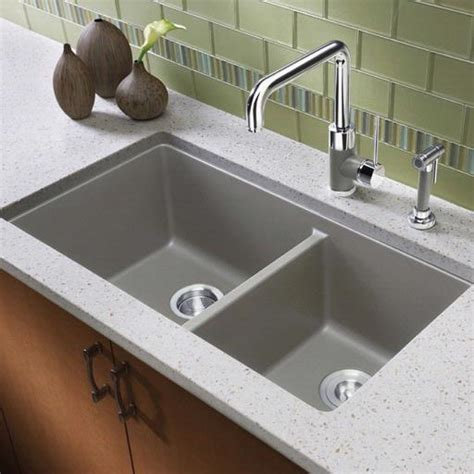 blanco metallic gray sink blanco america blancoprecis metallic gray 441130