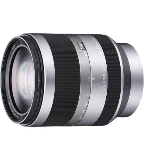 Lensa Sony Nex 18 200mm by Sony 18 200mm F 3 5 6 3 Oss Zoom E Mount Lens