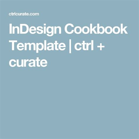 Indesign Recipe Card Template by 1000 Ideas About Cookbook Template On Family