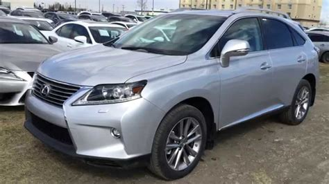 light grey lexus new silver on light grey 2015 lexus rx 350 awd sportdesign