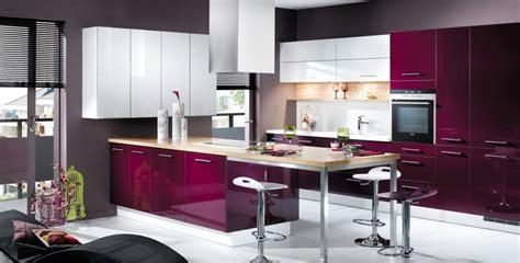 cuisine violet et blanc photo 4 25 de jolies teintes