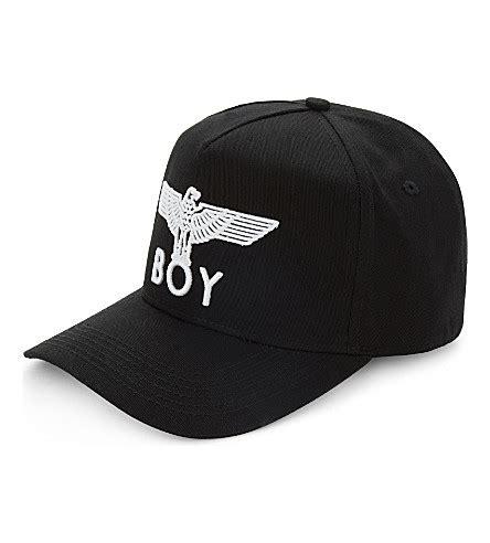 Boy Hat boy eagle cotton snapback cap selfridges