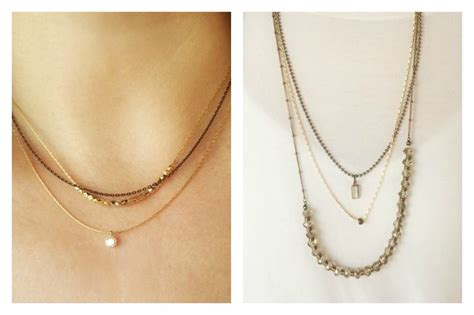 Chandelier Chains Your Easy Guide To Layering Necklaces