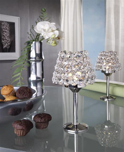 dekoration kerzenleuchter kristall kerzenst 228 nder teelichthalter noelle